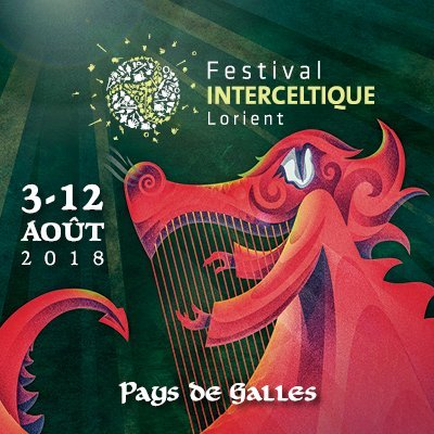 Festival interceltique Lorient 2018 stage photo